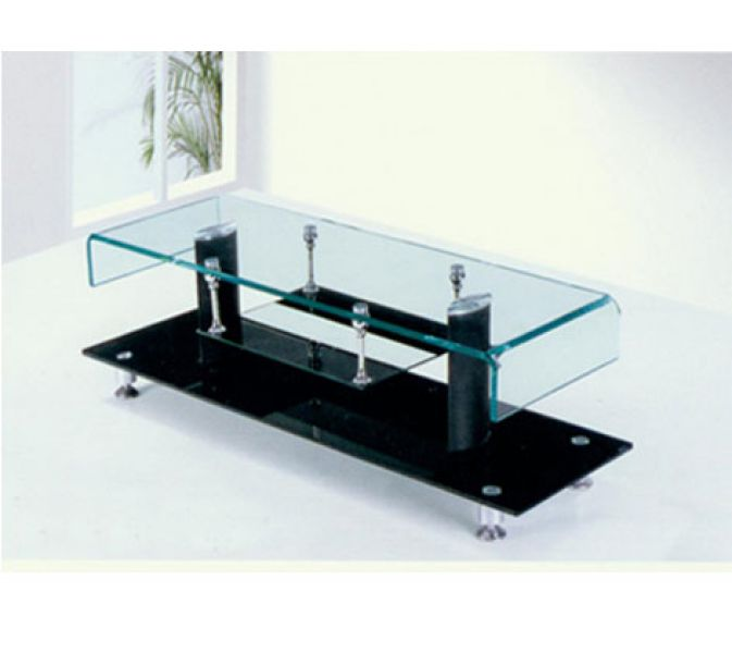 Etonnant Metal U0026 Glass TV Stand