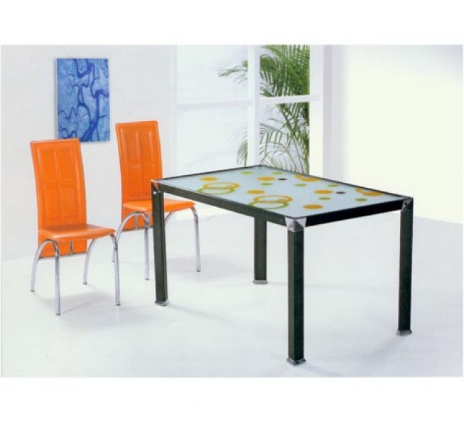 China Glass Tables Folding Rectangle Table Metal Glass Rectangle Table Mode