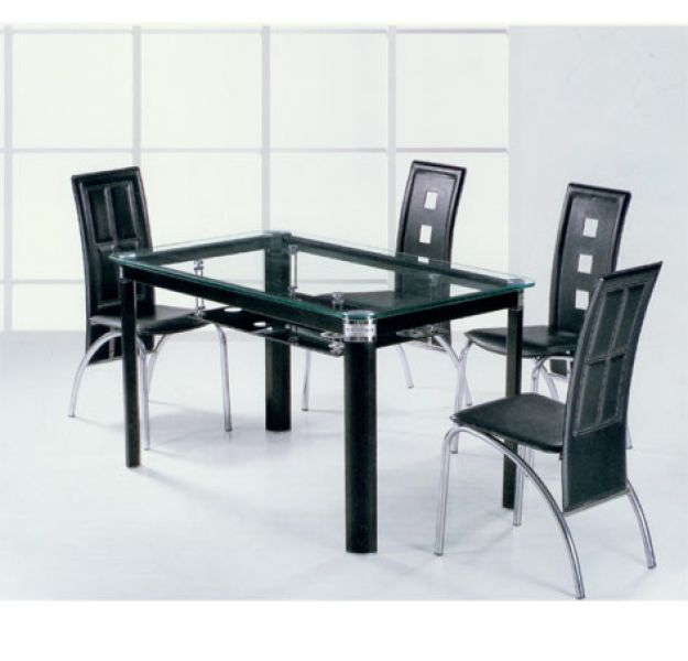 Dining table glass for dining table top - Designer glass dining tables ...