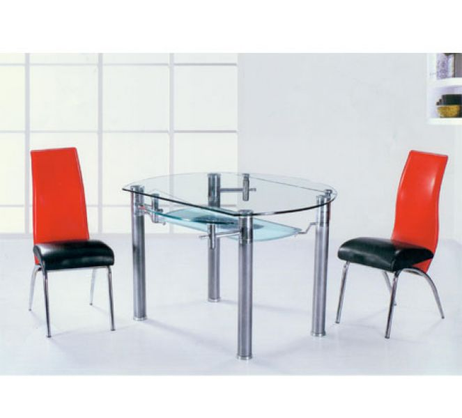 Dining table glass circle dining tables for Circle furniture dining tables