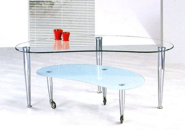 Modern Glass Coffee Table
