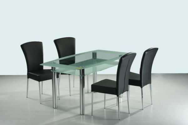 glass dinner room set dining room sets dining table and chairs dining