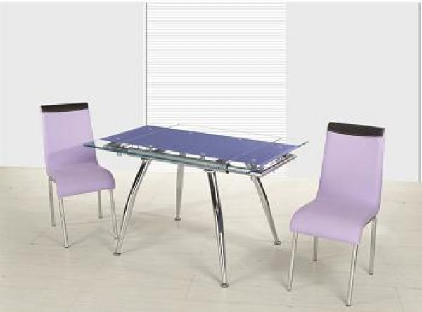 Contemporary Glass Top Dining Room Tables
