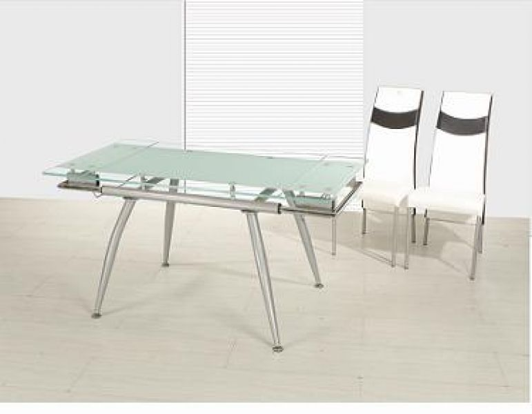 Rectangle glass dining room table - Glass Rectangular Dining Room Tables Rectangular Glass Dining Table