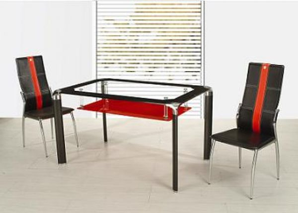 Glass Rectangle Dining Tables