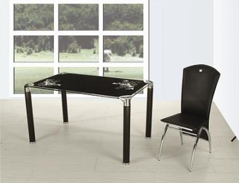 Black Dining Room Tables Black Dining Room Tables And Chairs Round
