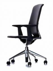 Chromed Steel Office Chair