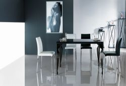 China Glass Dining Table